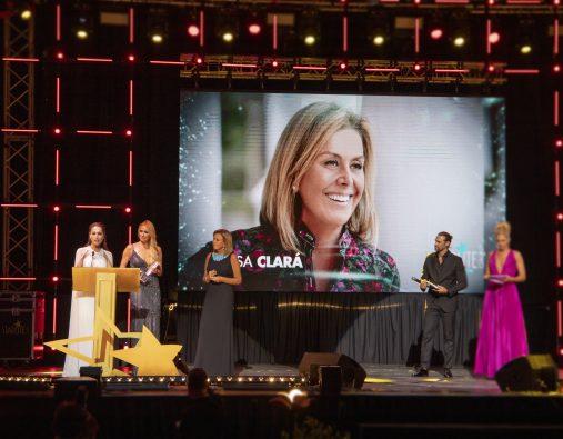 Rosa Clará premiada por su faceta solidaria en la Gala Starlite