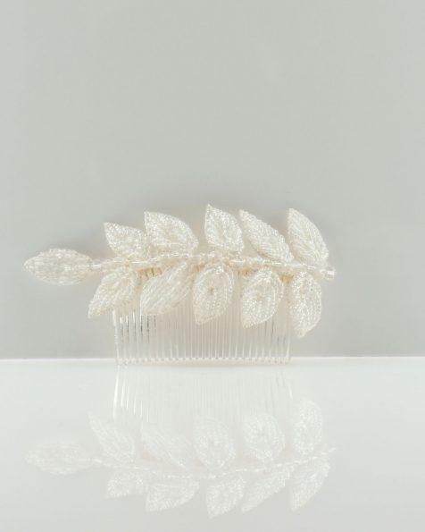 Pinta de núvia de pedreria. Col·lecció ROSA CLARA COUTURE 2022.